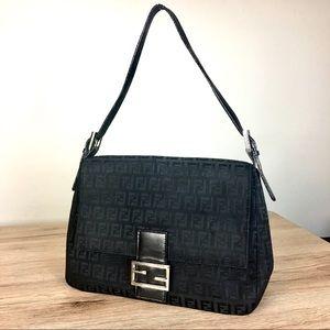 SALE ❄️ Fendi Zucca black shoulder bag